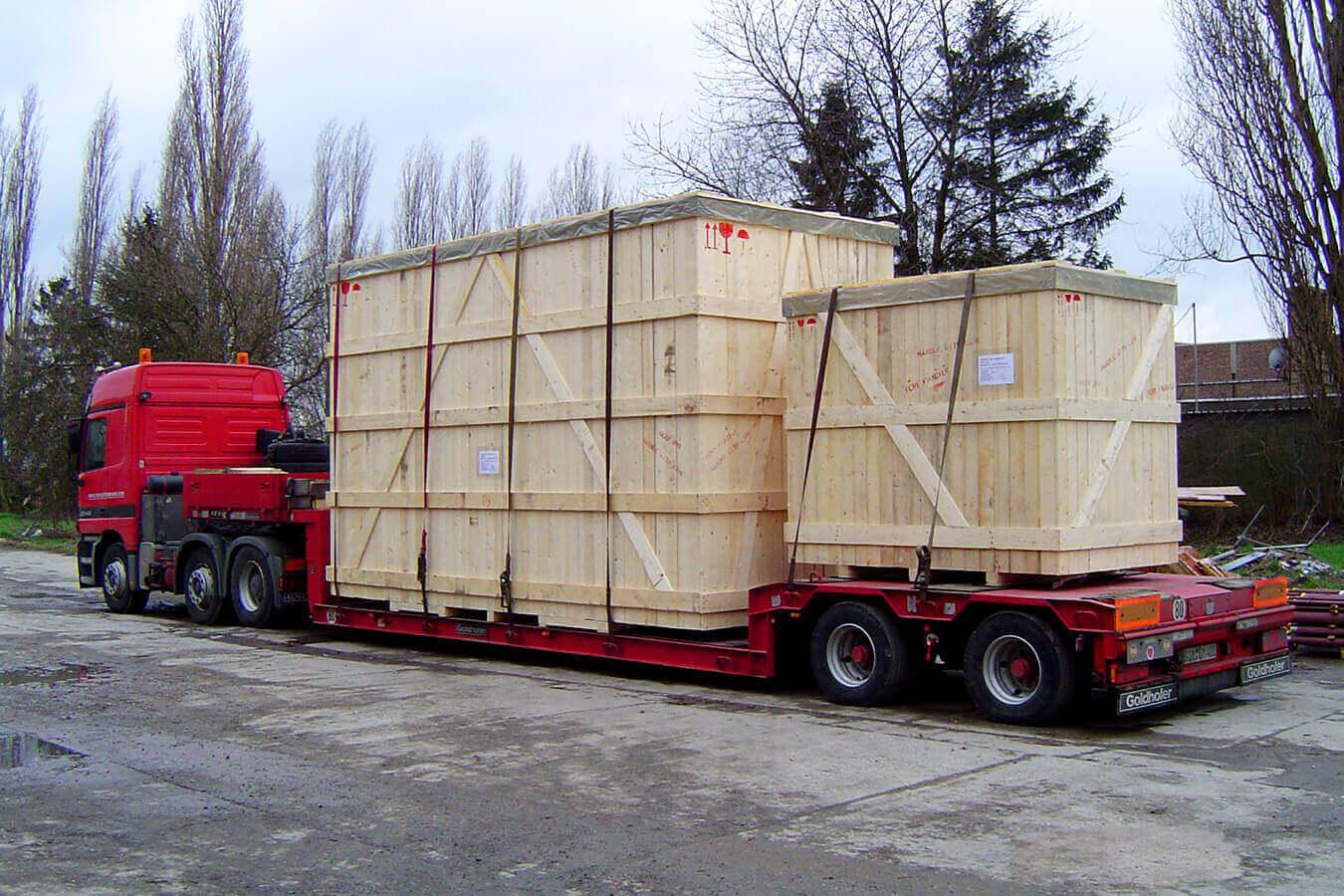 WaluPack Services : Industriële verpakking