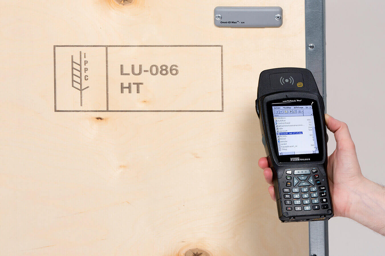 WaluPack Services : Traceerbaarheid - RFID